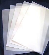 VELLUM  A4  112 gsm (20) 297x210mm Translucent Paper Scrapbooking Weddings New