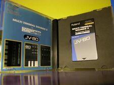 Roland Rom CARD JV PN-JV80-03 JV880 JV1080  64 Paches multi timbral sounds 2 ***