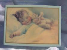 Ltd Edition Bessie Pease Gutmann music jewelry box baby