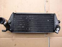 1995 95 Kawasaki KLX 250 Left Radiator Non Fill Side - Free Shipping