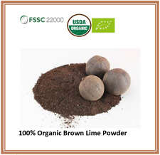 100 % ORGANIC LIME FLOUR / POWDER   Natural Premium Quality- with Tracking