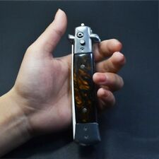 2018 New Automatic Hair Trimmer  Men's Pocket Comb  Folding Knife Comb
