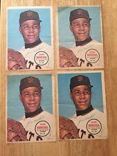 Lot Of 4 Vintage JUAN MARICHAL 1967 Topps 5x7 PIN-UPS # 28 San Francisco Giants