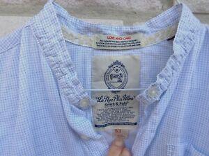 Scotch & Soda leichtes Sommer Hemd weiß hellblau gemustert XL Scotch&Soda