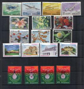 Bangladesh Four sets unmounted mint