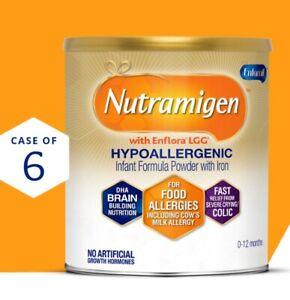 2 cases of 6 (unopened) Nutramigen 12.6 oz - selling for 50% off