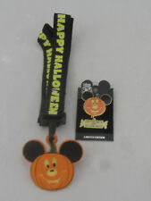 New - Disney Mickey Mouse 2002 Halloween Limited Edition Pin and Keychain