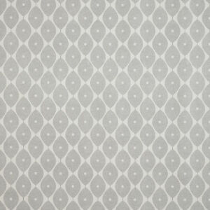 Grey Geometric Ovals PVC Vinyl Wipe Clean Tablecloth Available in Multiple Sizes