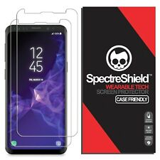 (2-PACK) Spectre Shield for Galaxy S9 Screen Protector (Case Friendly) (Milit...