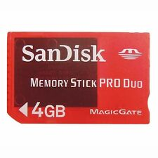 4GB Stick Pro Duo SanDisk Memory Speicherkarte f.PSP Memeory Card