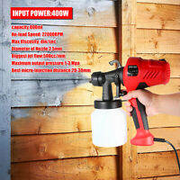Electric Paint Sprayer Gun Removable High-pressure Paint Spray Air Flow Control