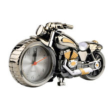 Desk Clock Table Decoration Alarm Clock Motorbike Design Cool Motorcycle