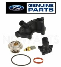 For Ford Thermostat Upper & Lower Housing Sistem Gasket Seal Sensor Genuine