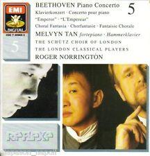Beethoven: Piano Concerto No.5, Fantasia Corale / melvyn Tan, Norrington CD Emi