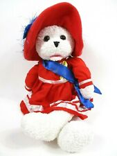 """Animated PBC Patriotic Bear 19"""" 'Sings 'God Bless America' Head & Mouth Move"""