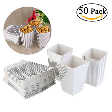 50stk Popcornbecher Popcorn Boxes Popcorntüten Papiertüte Popcorn Verpackung