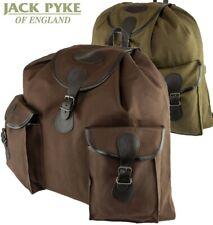 "Jagd- Rucksack Canvas ""Jack Pyke"" 45 L Grün- Braun  Tages Rucksack Back Pack"
