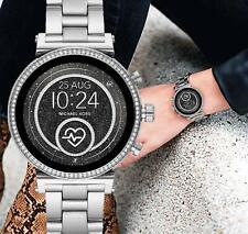 Michael Kors MKT5061 Smart Watch Watch Sofie IP Silver New