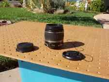 CANON EF-S 18-55mm F/3.5-5.6 II CAMERA LENS + 58mm FILTER EXCELLENT CONDITION