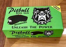 "Stun Gun ""19 Million Volts"" New Pitbull Super 610 Self Defense w/ leather Case"