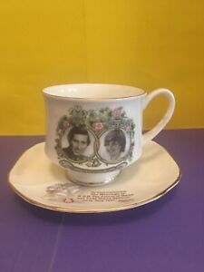 Marriage Of Prince Charles and Princess Diana Commemorative Cup & Saucer
