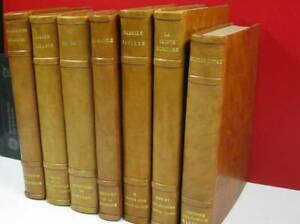 Religieux lot de 7 ouvrages, reliés, Religieux, titres & auteurs sur photos
