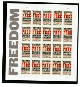 A Fantastic mint united States 2013 Freedom Complete Sheet