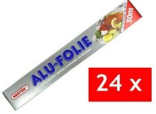 24x Alufolie 30m Alu Folie Reißfest 720m insgesamt Aluminium 30cm breit
