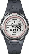 Timex T5K360, Women's Marathon Resin Watch, Indiglo, Alarm, Stopwatch, T5K360