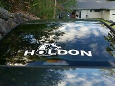 LARGE Holden popular car sticker Ebay Holdon funny bumper sticker