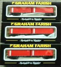 Graham Farish Freightliner Bogie Wagon with containers - N gauge FREE POSTAGE