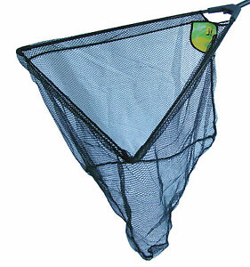 Dinsmores Hex MeshTriangular Folding Fishing Landing Nets with Net Bag