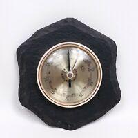 Vintage Barometer Made in Germany Stone Mount Naturscheifer Decor Not Tested