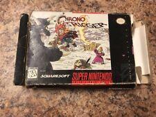 Snes Chrono Trigger Original Box ONLY Acceptable Condition