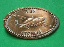 B-25 Mitchell elongated penny Usa cent Flying Machines Series coin