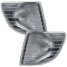 MERCEDES-BENZ VITO W638 CORNER INDICATOR LIGHT LAMP PAIR CLEAR 1998-2004