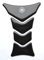 Yamaha YZF YZF-R1 R6 FZ1 FZ8 FZ6 Polyurethane Black tank pad Protector Sticker