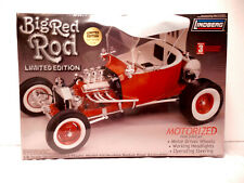 FACTORY SEALED, Lindberg, Big Red Rod, 1/8 Scale Plastic Model Kit # 73044