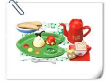 Megahouse RARE Miniature Black Cat Chef Italian Cafe Re-ment Tea Time Set -No.4