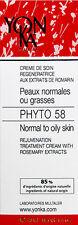 Yonka Phyto 58 PG PNG Cream Normal/Oily Skin 1.4oz Brand New