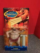 Disney's Hercules Cyclops Action Figure W/ Attack Pillar Mattel 1997