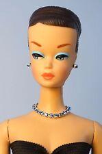 Barbie Vintage FR Handmade Necklace Earrings Bracelet Rhinestone Jewelry NE1470