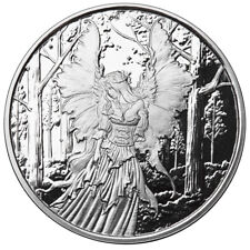 1 OZ SILVER COIN AMY BROWN FAIRY COLLECTION LADY OF THE FOREST 2ND IN SERIES COA