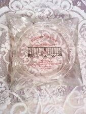Vintage Pullman Standard 1966 Large Glass Ashtray in GUC