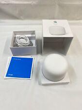Google Nest Wifi Router - SnowExcellent Shape