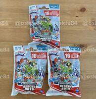 (3x) Lot Of 3 Playskool Heroes Transformers RESCUE BOTS Blind Bag Series Sealed!