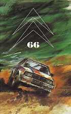 LE DOUBLE CHEVRON 66 1981 TROPHEE INTERNATIONAL VISA GP DE DUBAI CITROEN M35