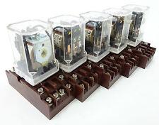 5x ZPA RP700 Steckrelais Plug Relay Sockel Socket ZC 220V 3P T32 454907.31 UNUSE