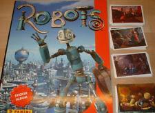 Robots  Album vuoto  +  set Completo di  figurine  w/Cards HOLO  Panini 2005