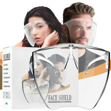Boxed Clear Face Shield Face Mask Transparent Reusable Glasses Visor Anti-Fog